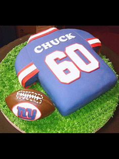 New York Giants Jersey Cake - Shaped Cakes - 44