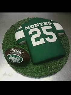 New York Jets Jersey Cake - Shaped Cakes - 45