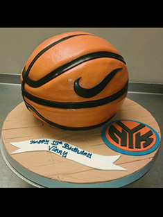 Nike Basketball Cake - Shaped Cakes - 58