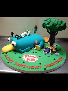Phineas and Ferb Birthday Cake - Shaped Cakes - 61