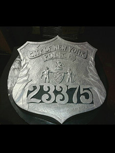 NYPD Police Officer Badge Cake - Shaped Cakes - 62
