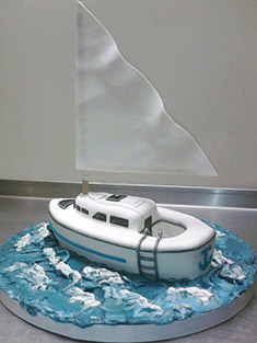 Sailboat Cake - Shaped Cakes - 66
