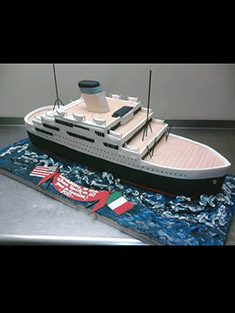 Cruise Ship Cake - Shaped Cakes - 74