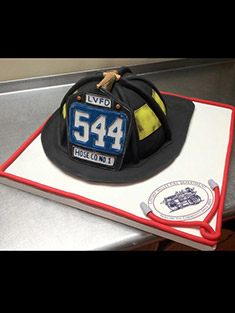 Firefighter Helmet Cake - Shaped Cakes - 82
