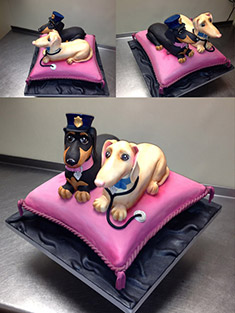 Dachshund Hot-Dog Cake - Shaped Cakes - 86