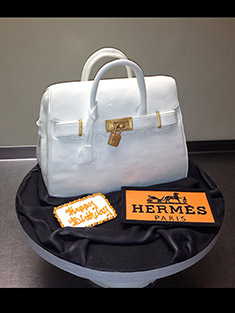 Hermes Hand Bag Cake - Shaped Cakes - 88