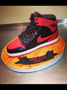 Air Jordan Sneaker Cake - Shaped Cakes - 91