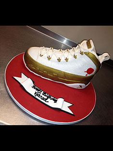 Air Jordan Sneaker Cake - Shaped - 93