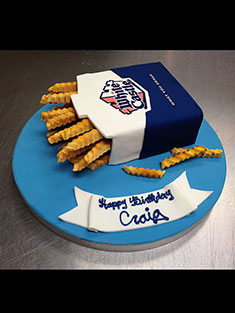White Castle Cake - Shaped - 97