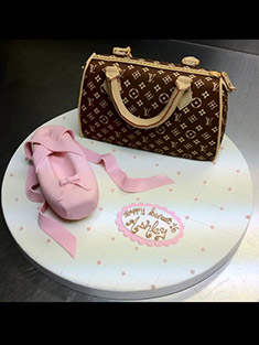Louis Vuitton Bag Sweet 16 Cake - Sweet 16 & Bar/Bat Mitzvah - 23