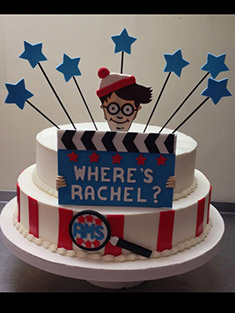 Where's Waldo Cake - Sweet 16 & Bar/Bat Mitzvah - 29