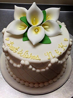 Flower Cake - Single Tiered - 29