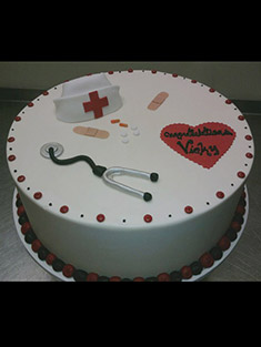 Doctor's Cake - Single Tiered - 35