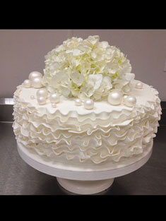 Flower Cake - Single Tiered - 92