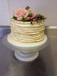 Flower Cake - Single Tiered - 93