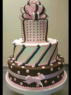 Occasions Cake - Tiered & Topsy Turvy Cakes - 22