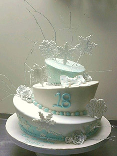Occasions Cake - Tiered & Topsy Turvy Cakes - 36