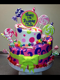 Occasions Cake - Tiered & Topsy Turvy Cakes - 41