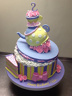 Occasions Cake - Tiered & Topsy Turvy Cakes - 54