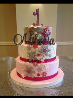 Occasions Cake - Tiered & Topsy Turvy Cakes - 75