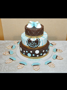 Occasions Cake - Tiered & Topsy Turvy Cakes - 76
