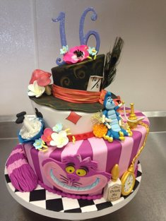 Occasions Cake - Tiered & Topsy Turvy Cakes - 83
